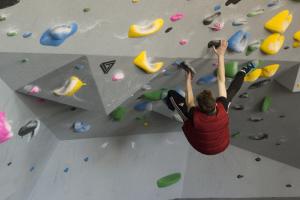 Climber Bouldering 101