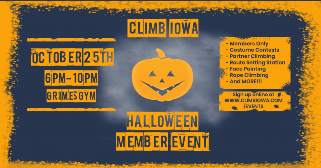 Halloween Member Event Facebook